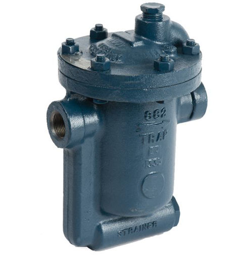 """Picture of Steam Trap,Armstrong,Inverted bucket,813,DN25mm, 250psi operating pressure,3/16"""" orifice ,screwed BSP female x female,cast iron"""